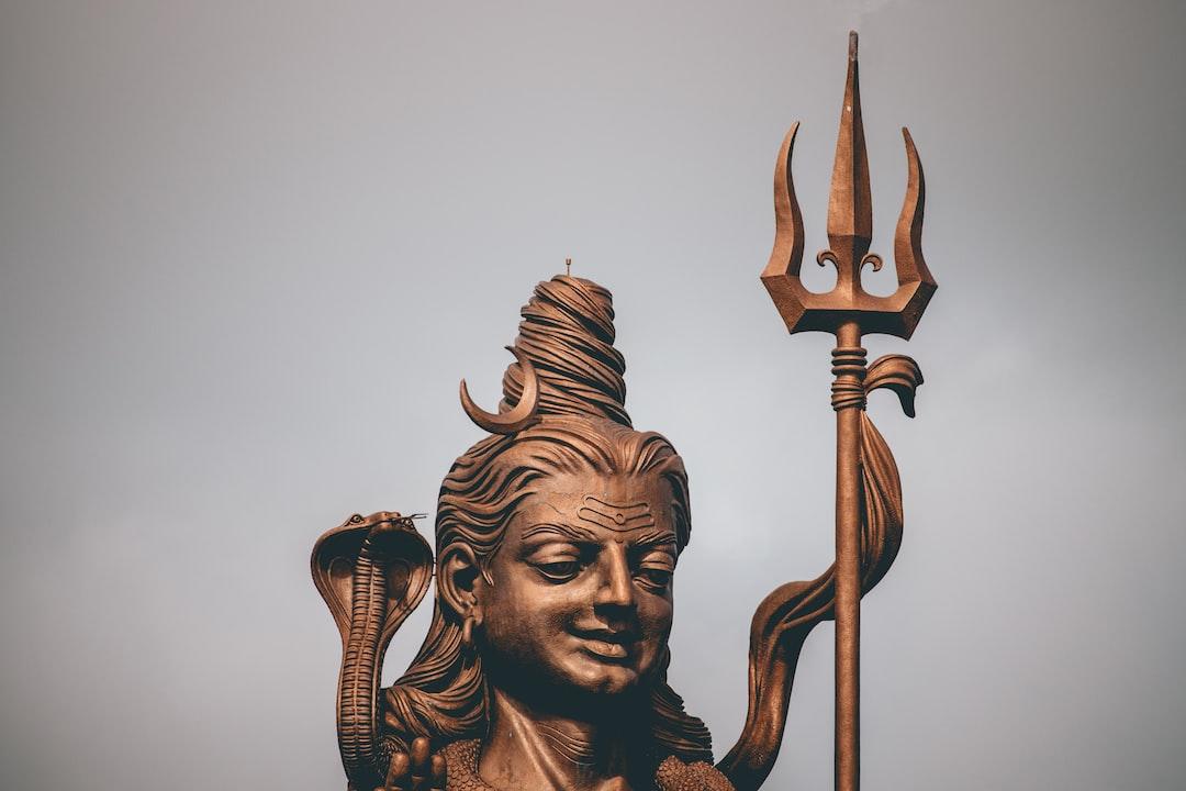 Shiva's statue
