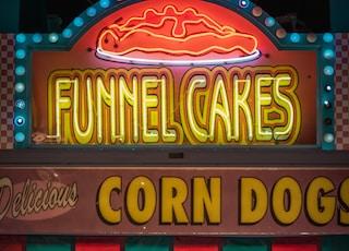 Funnel Cakes LED signage