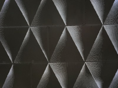 black digital wallpaper