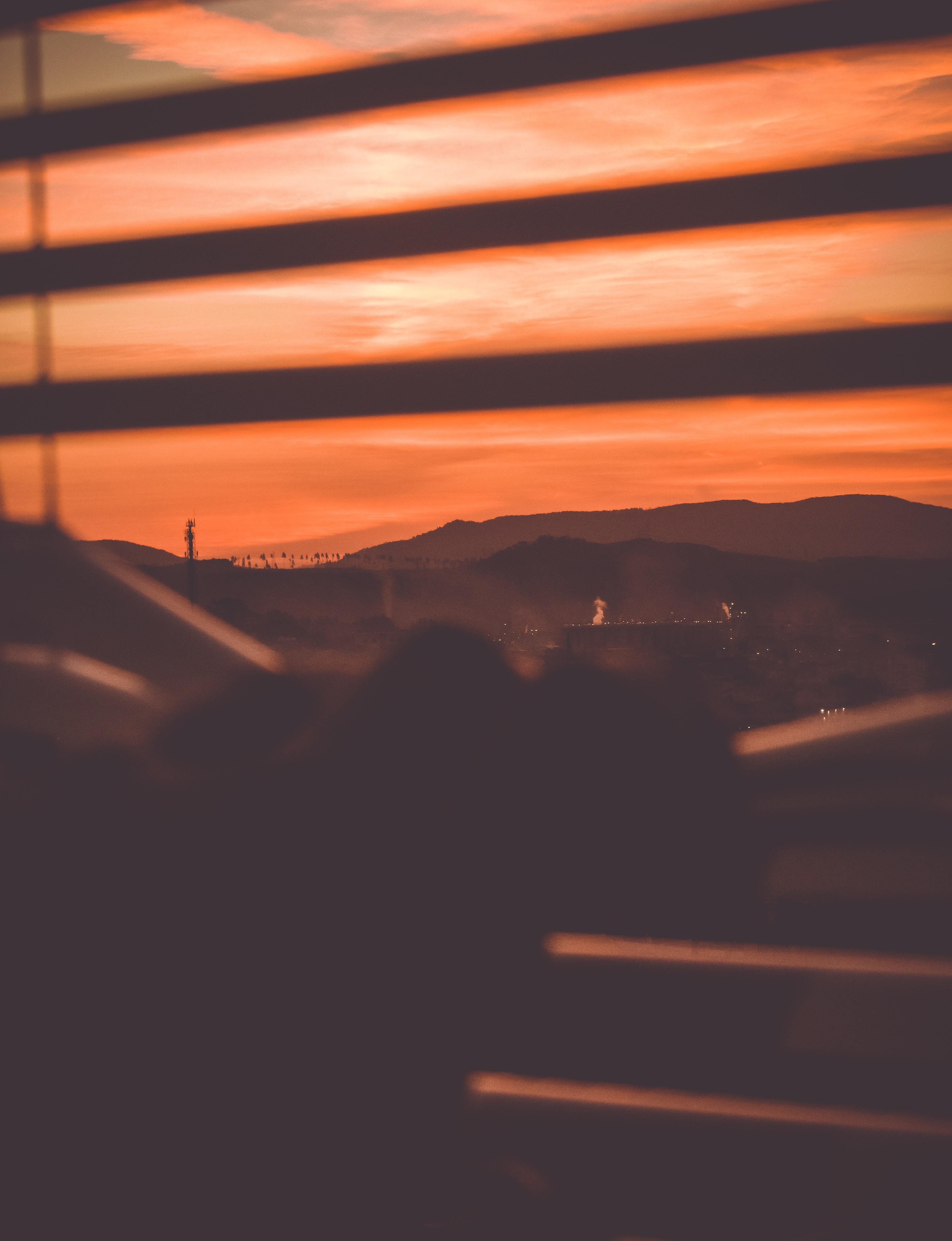 orange sky during daytime