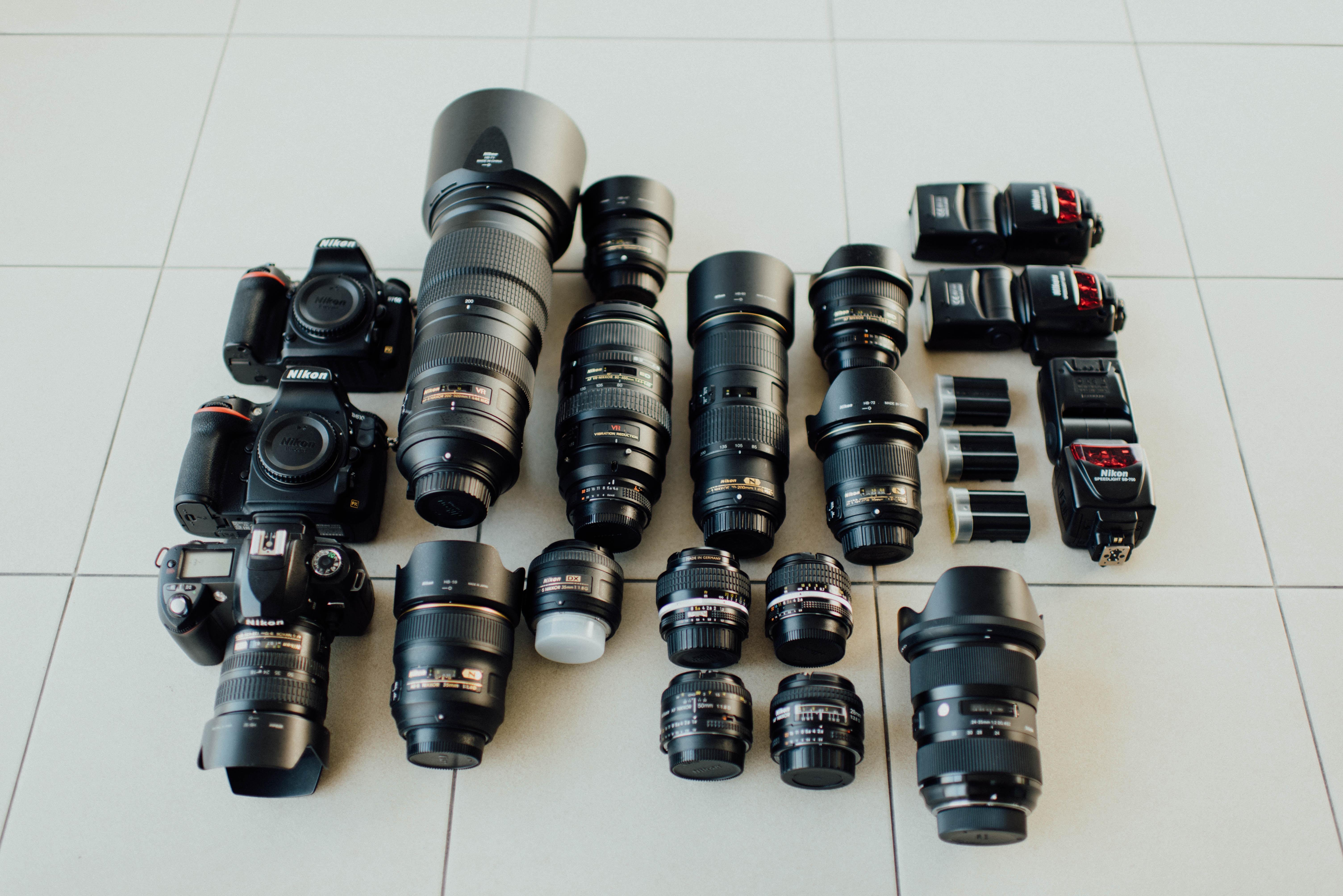 camera lens lot