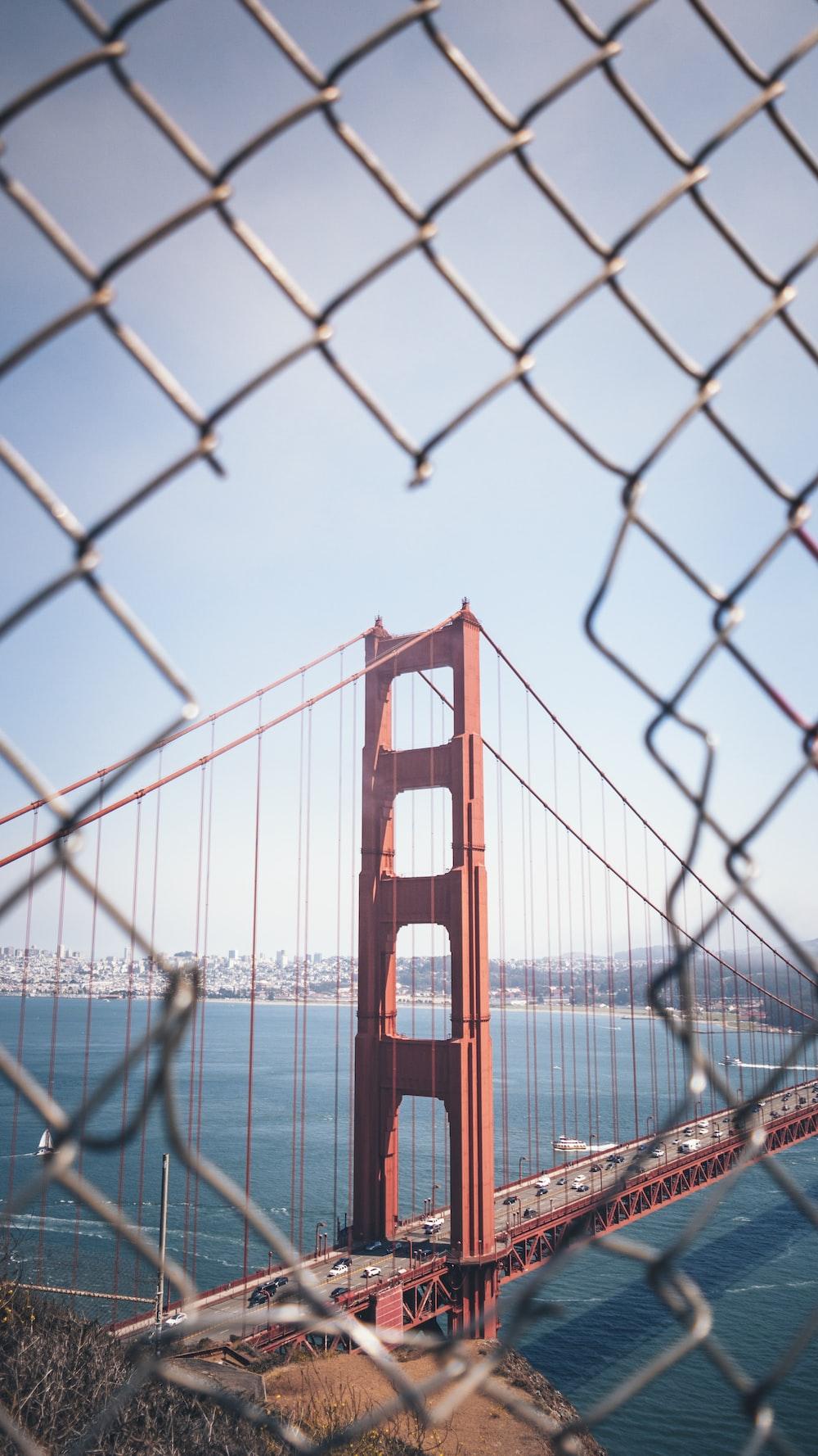 architectural photography of Golden Gate Bridge