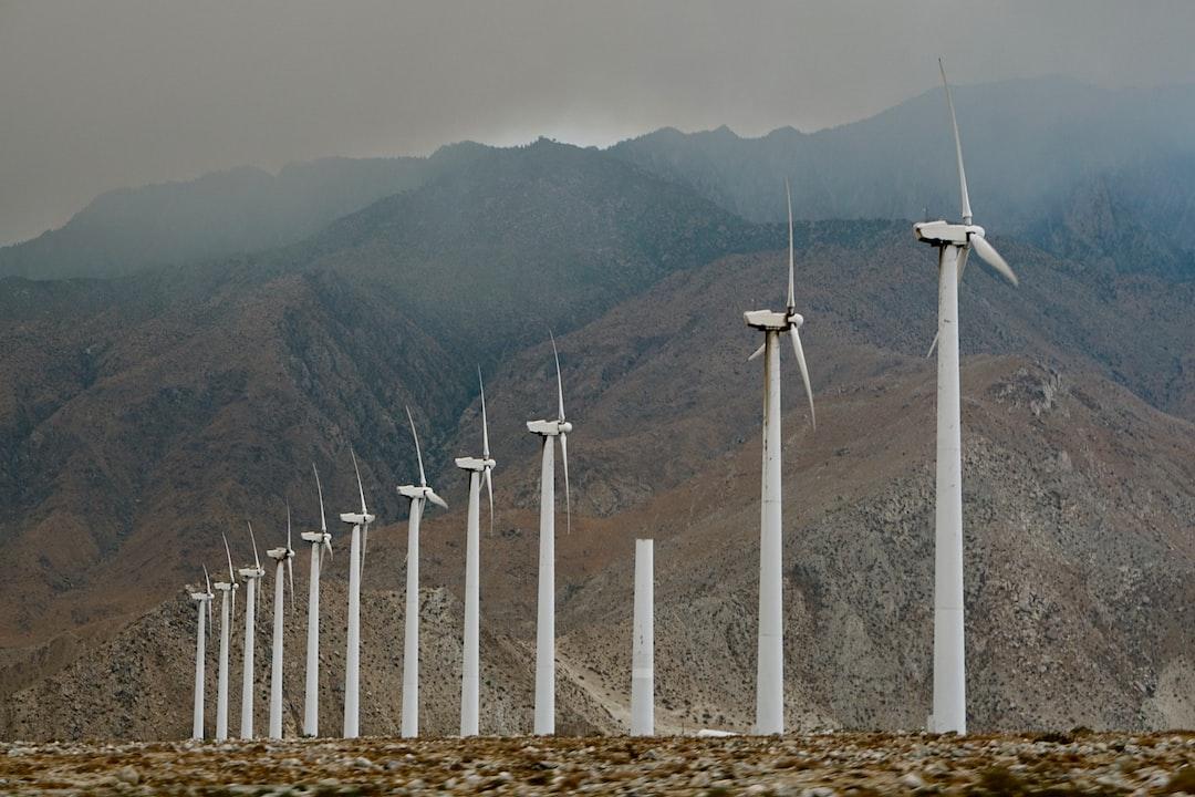 Driving through the San Gorgonio Pass Wind Farm as the Cranston fire dumps smoke on Mount San Jacinto.
