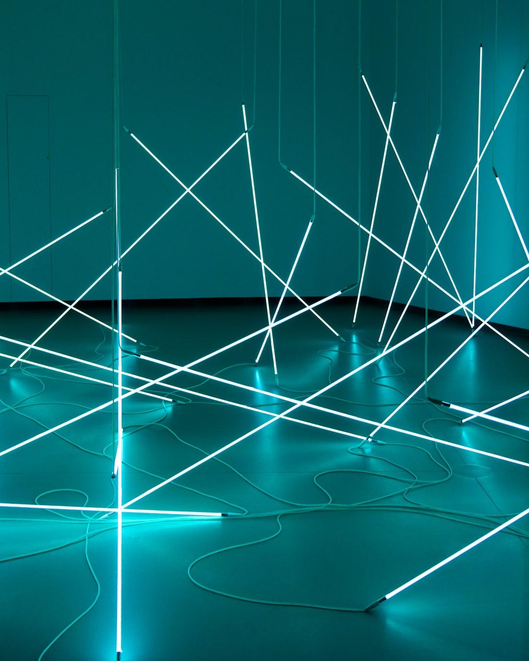Light Installation By François Morellet