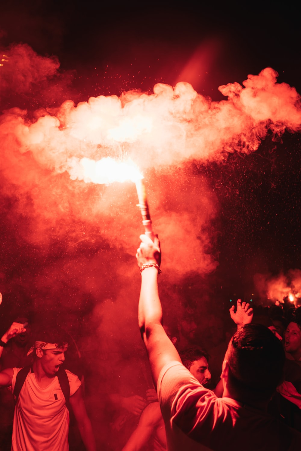 Red Smoke Pictures Download Free Images On Unsplash
