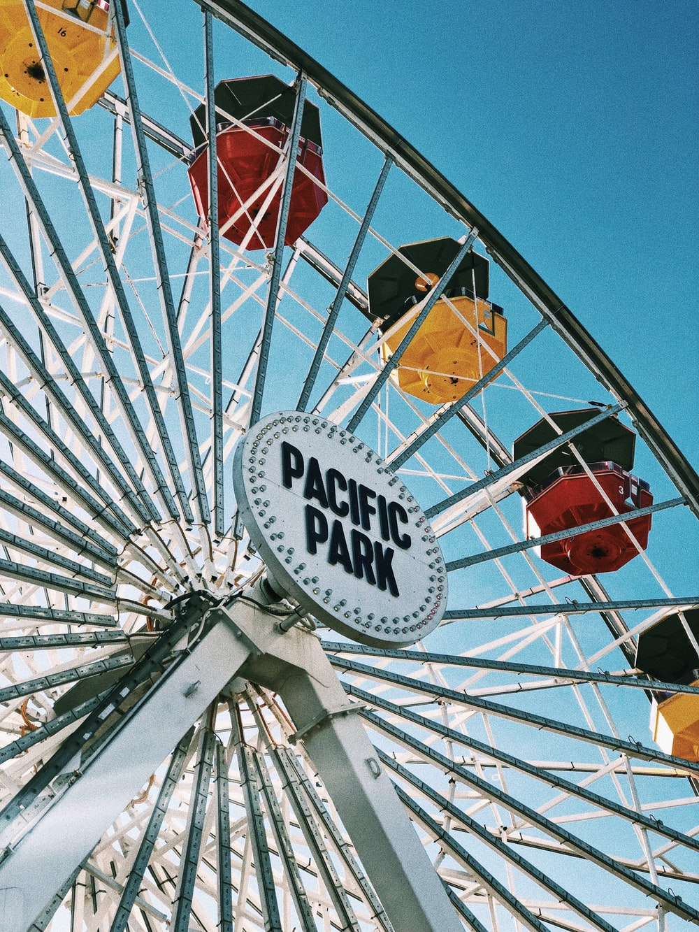 Pacific Park rollercoaster