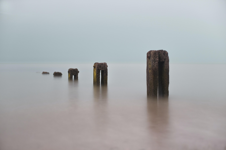 photo of dock ruins