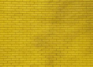 yellow wall bricks