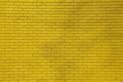 yellow wall bricks