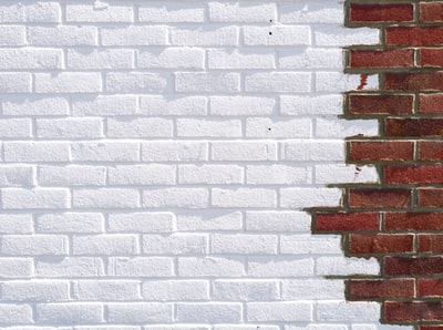 white and brown brick wall brick teams background