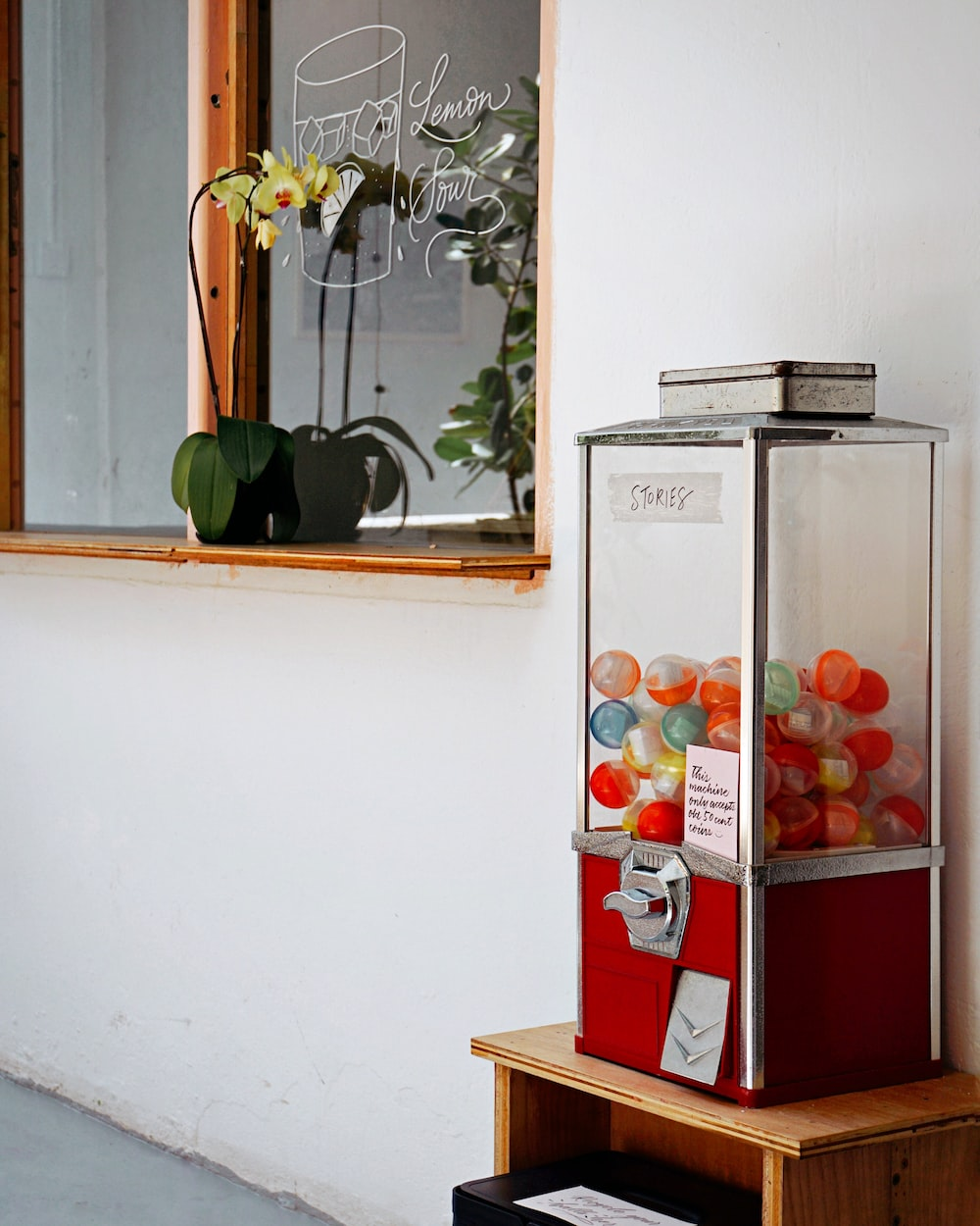 stories coin operated machine
