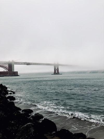 photography of concrete bridge