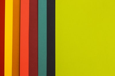 yellow, black, green, and orange digital wallpaper