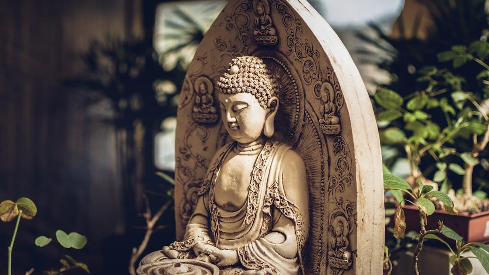 Gautama statue