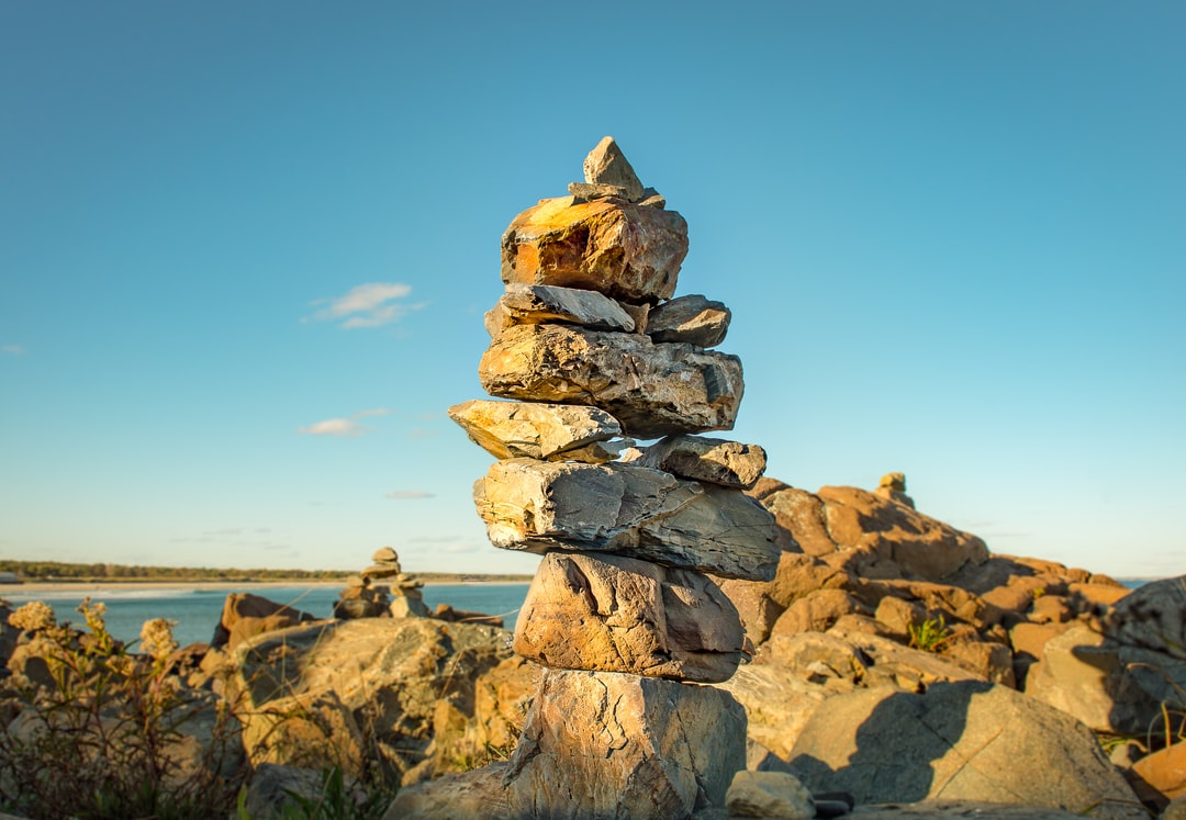 A cairn for existence