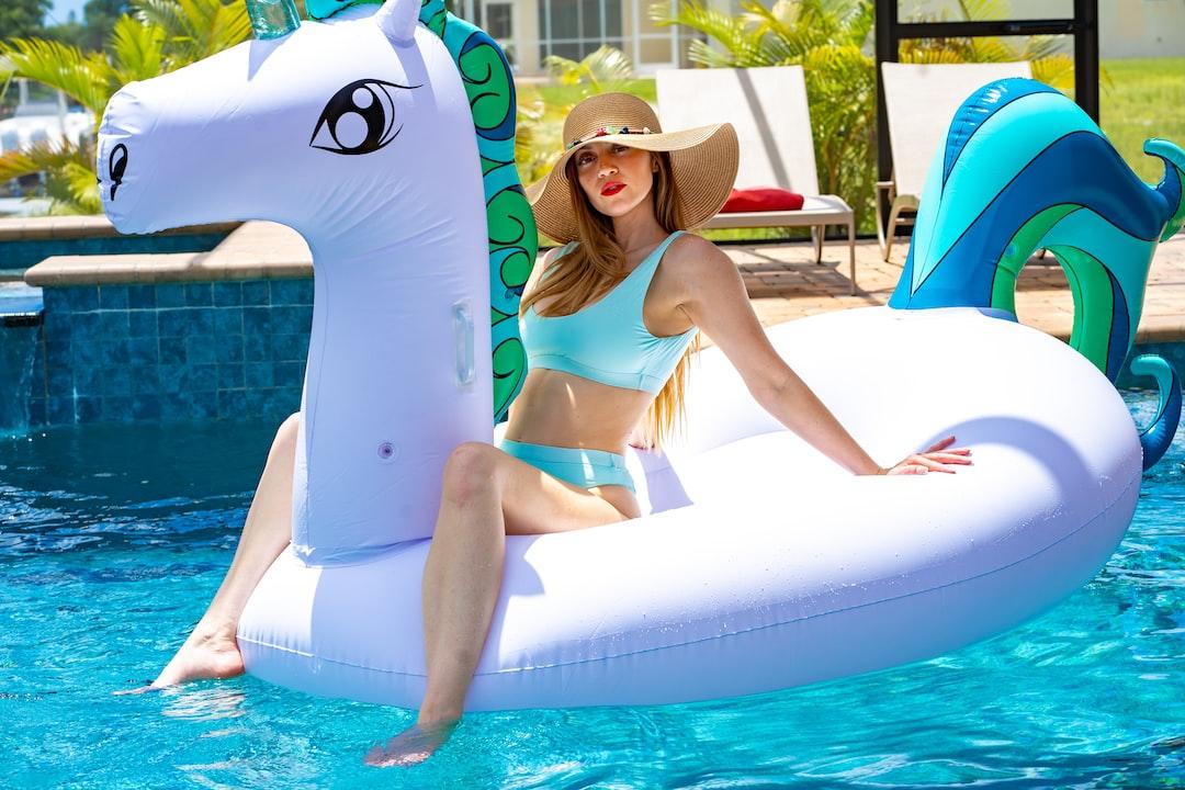 Fun in the Sun with the Unicorn Pool Float