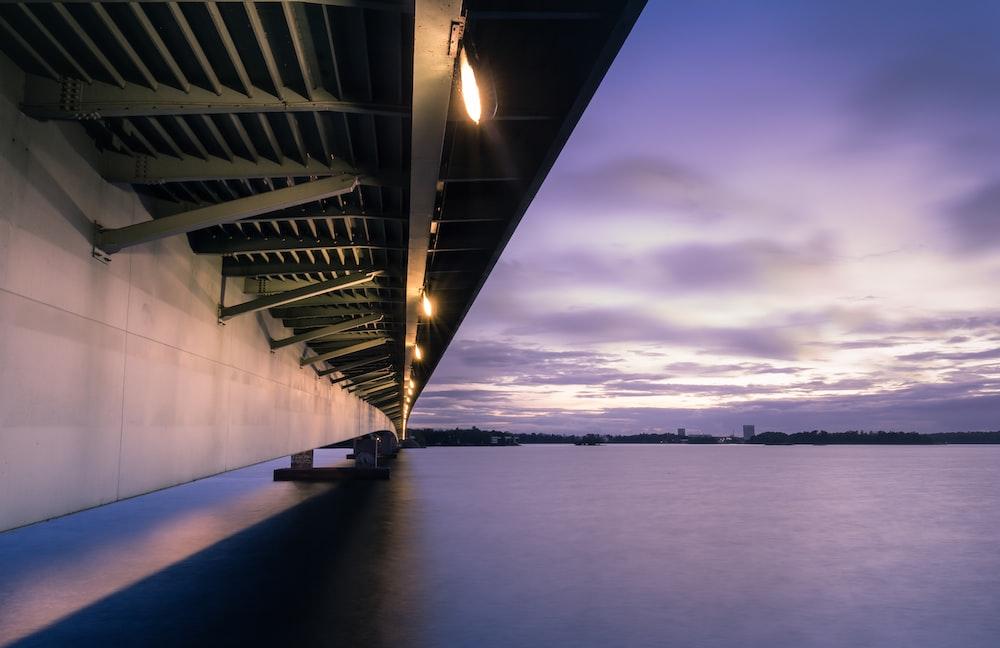 bridge and body of water