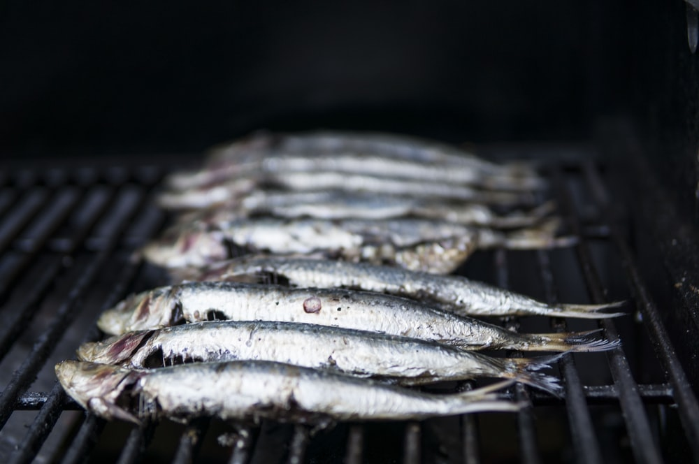 fishes grilled