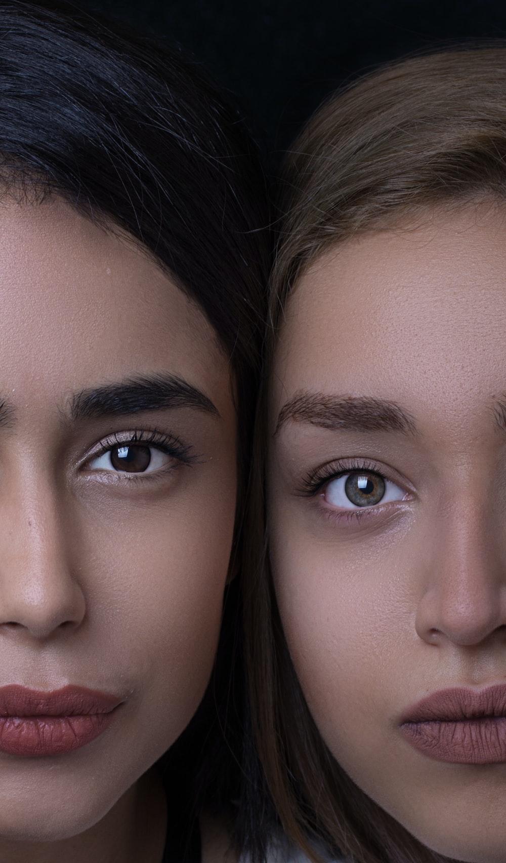 portrait of woman faces