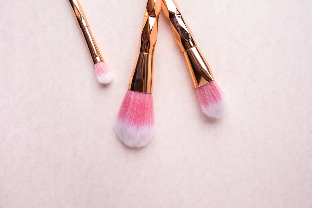 Pink Unicorn Cosmetic Brushes