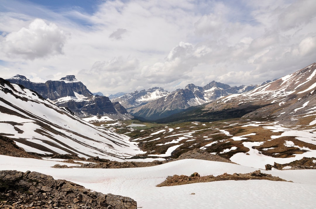 Shoot during my 4 days hiking : Molar Pass in the Canadian rocky mountains. View from the pass.
