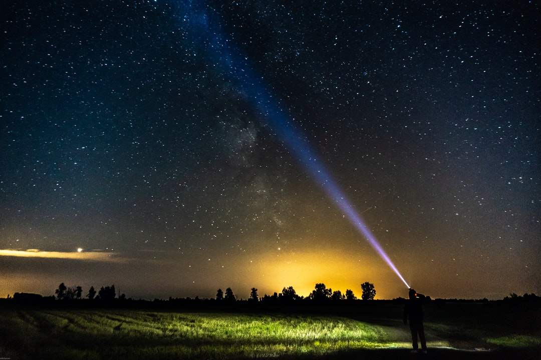 We arrived to the empty field to see the meteor shower. And it was unbelieveble