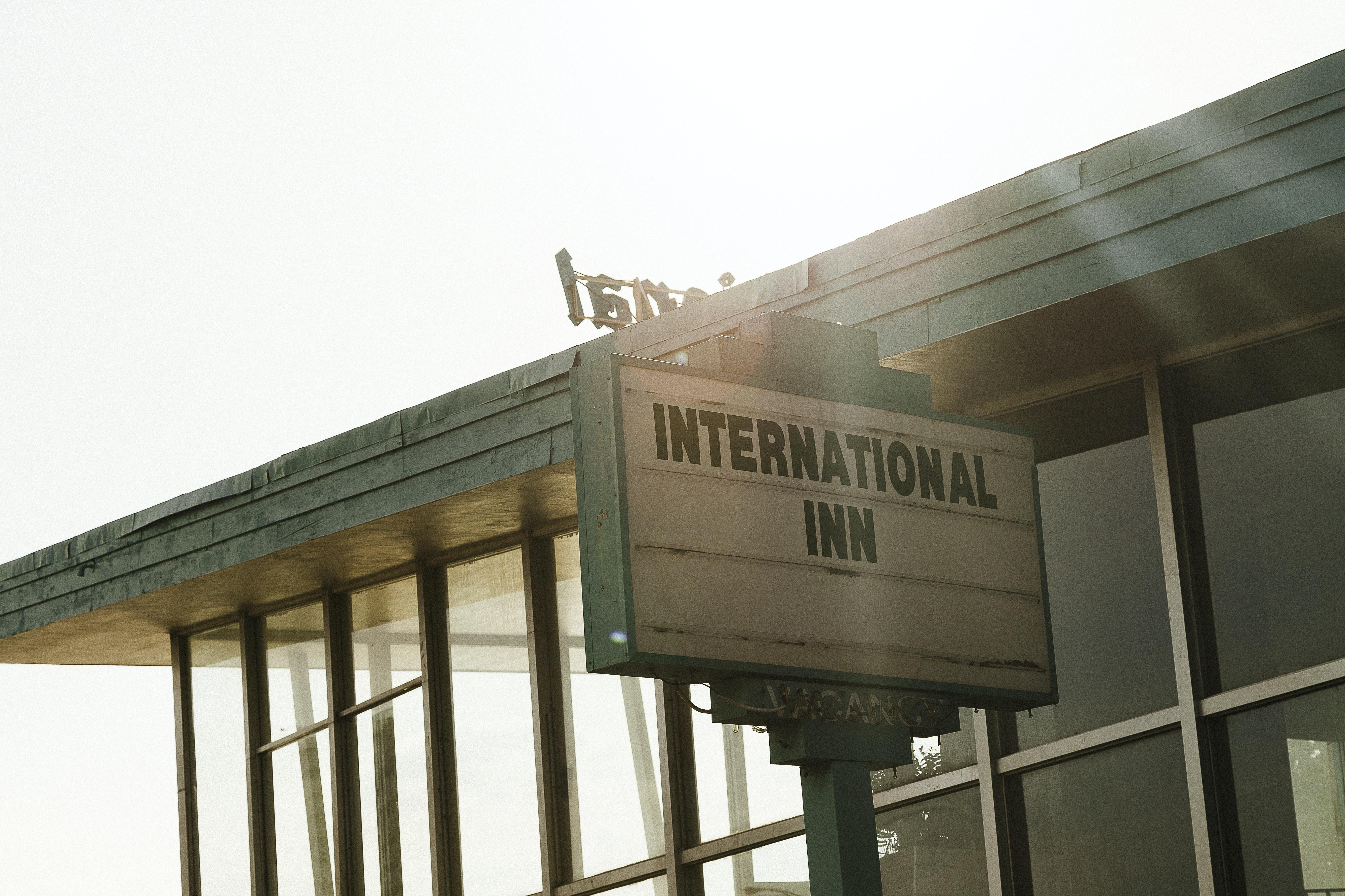 International Inn sign