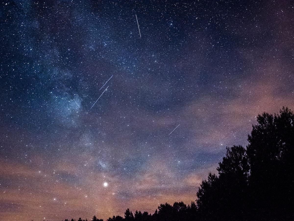 eventos astronómicos, lluvia de estrellas, sky milky way