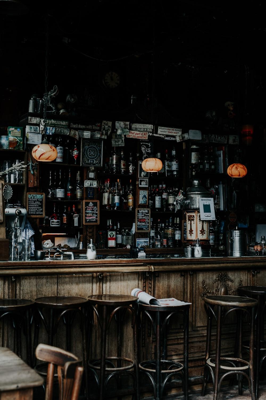 vintage bar station