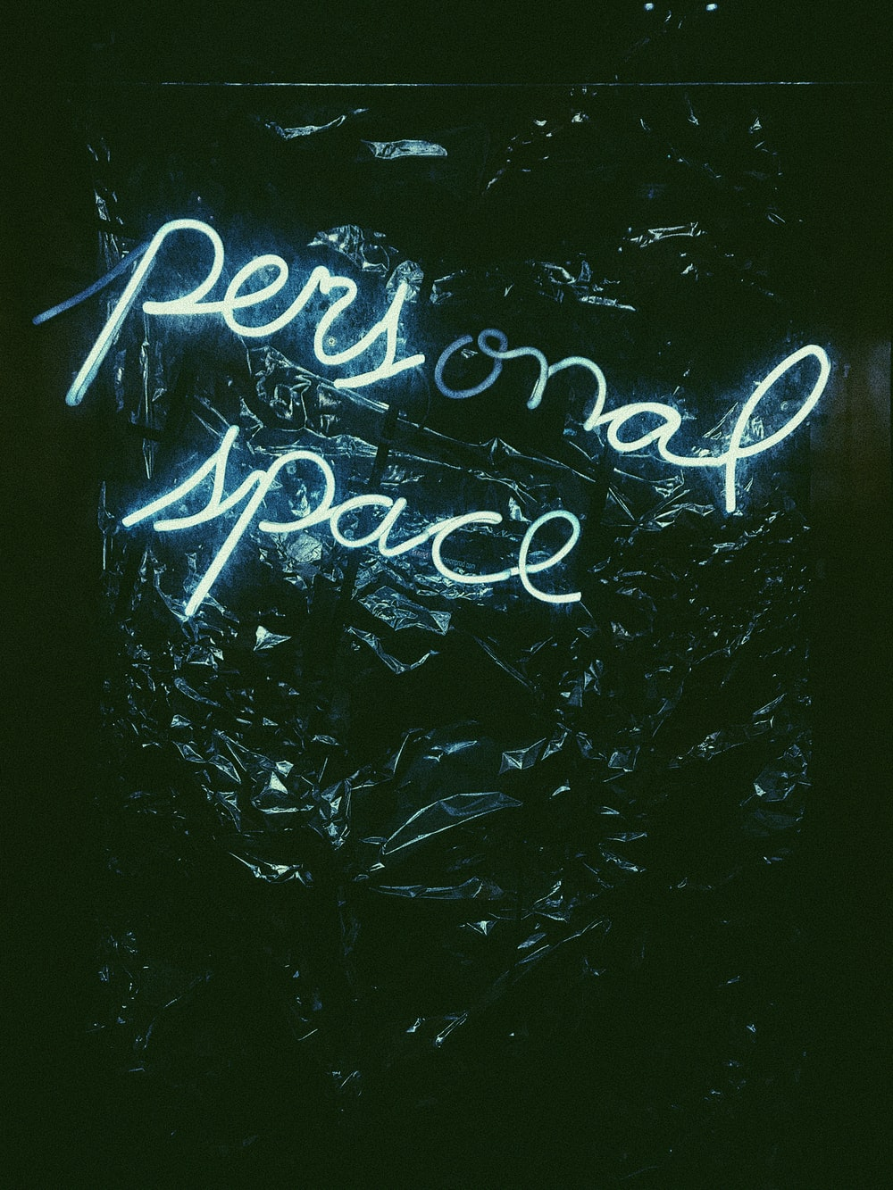 lit personal neon signage