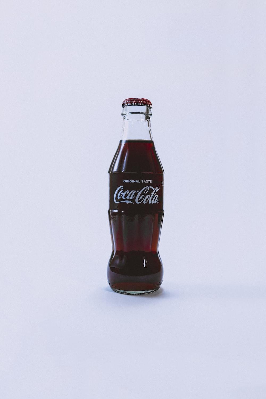 filled Coca-Cola bottle