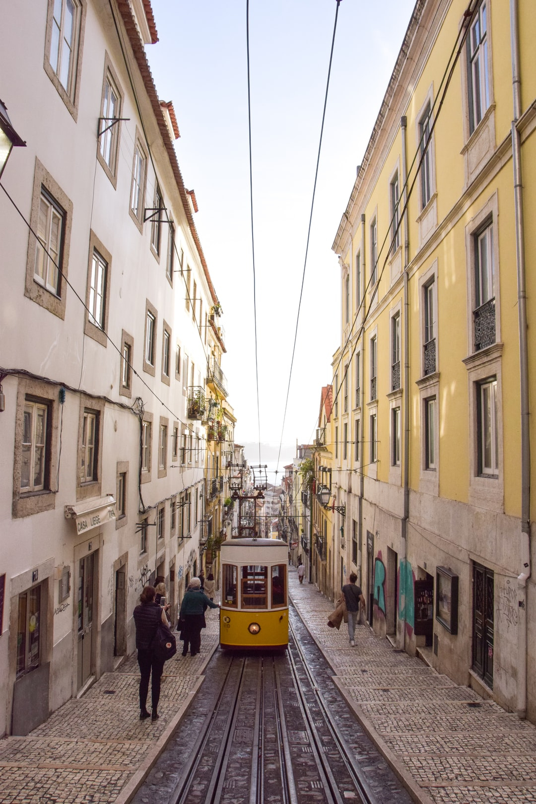Stumble upon this sunset in the last 5 minutes of exploring Chiado in Lisbon. I was visiting for the first time and my boyfriend was showing me around his city. The soft hues, ambiance, and timing were perfect. I immediately fell in love with this city and understood why my boyfriend loves it so much, too.