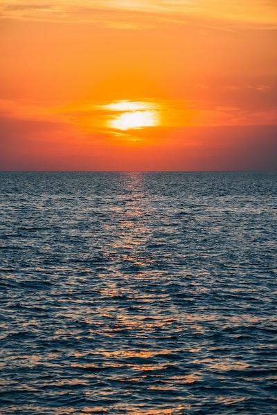 Sunset in Nea Potidea