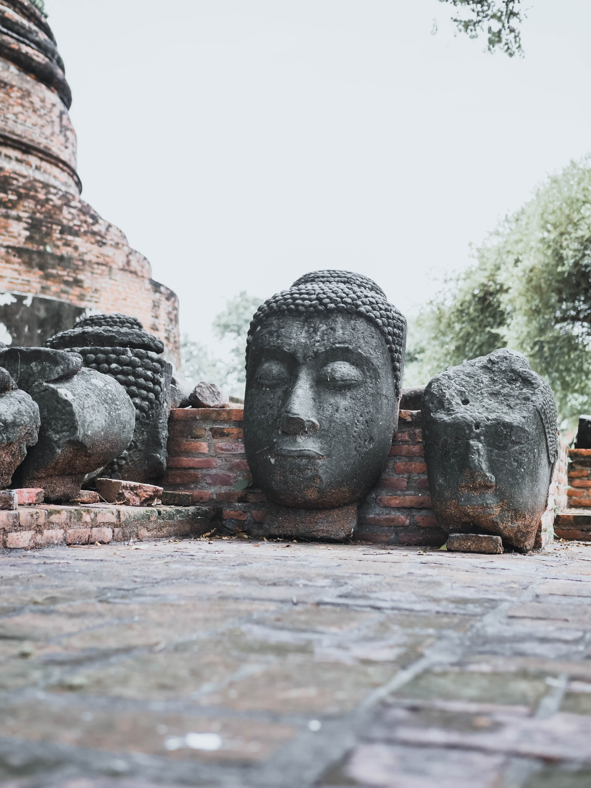 Are Buddha Heads Disrespectful?