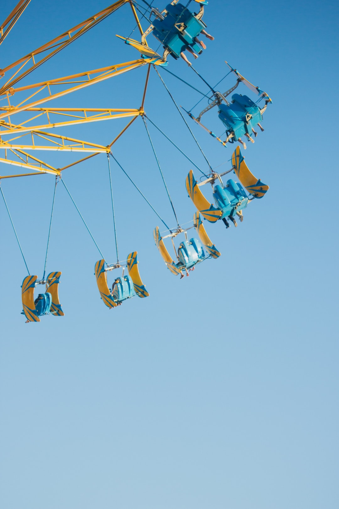 Swing carousel is not only a joy maker but also a memory maker.