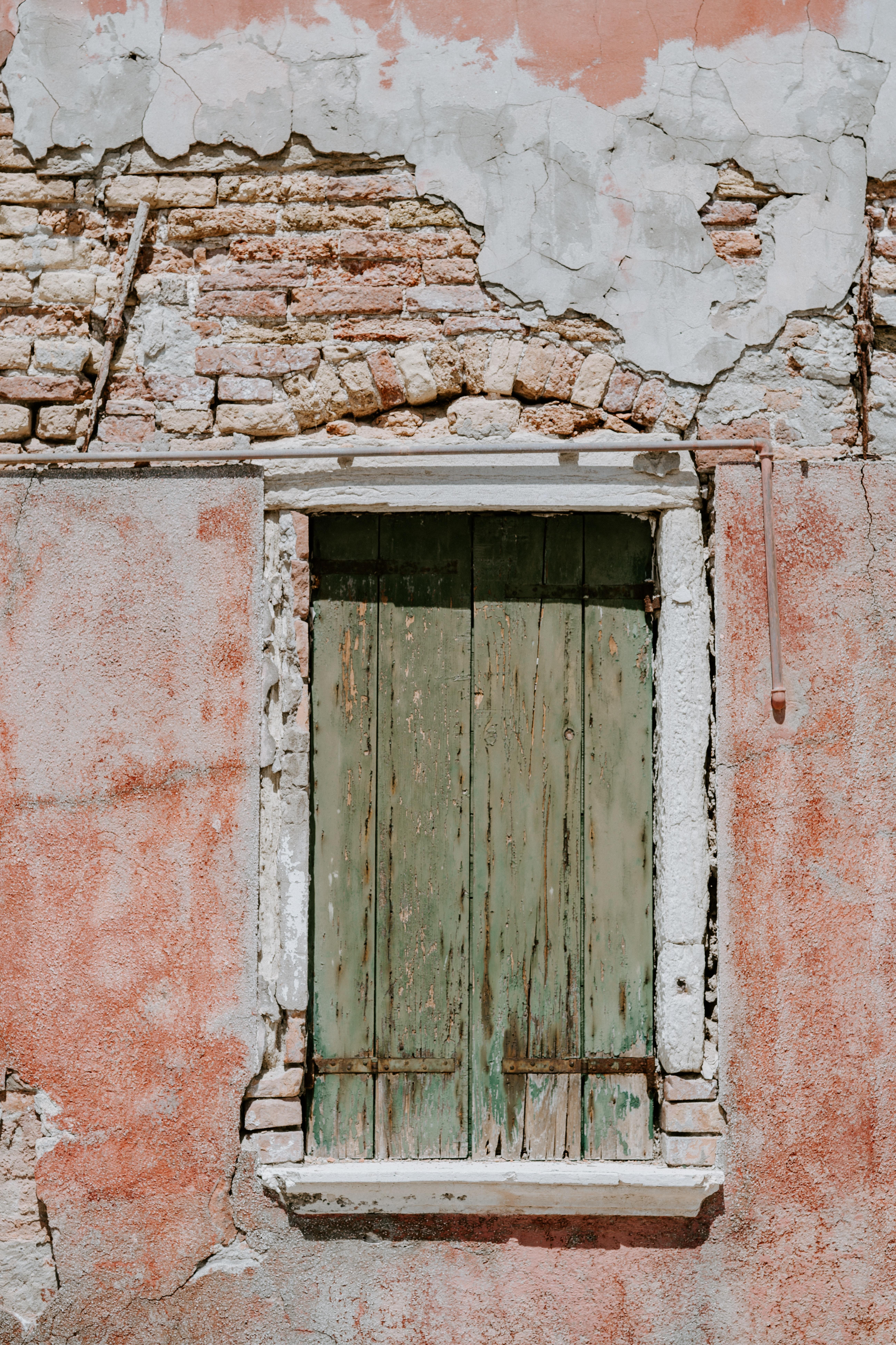 brown wooden room window close