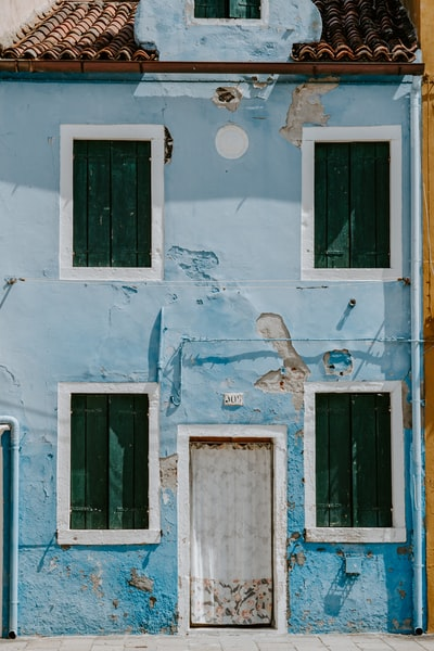 Colourful houses of Burano, Venice