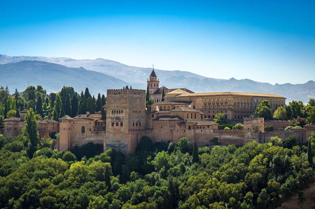 Impressie Alhambra in Granada, een van de 5 leukste steden in Spanje.