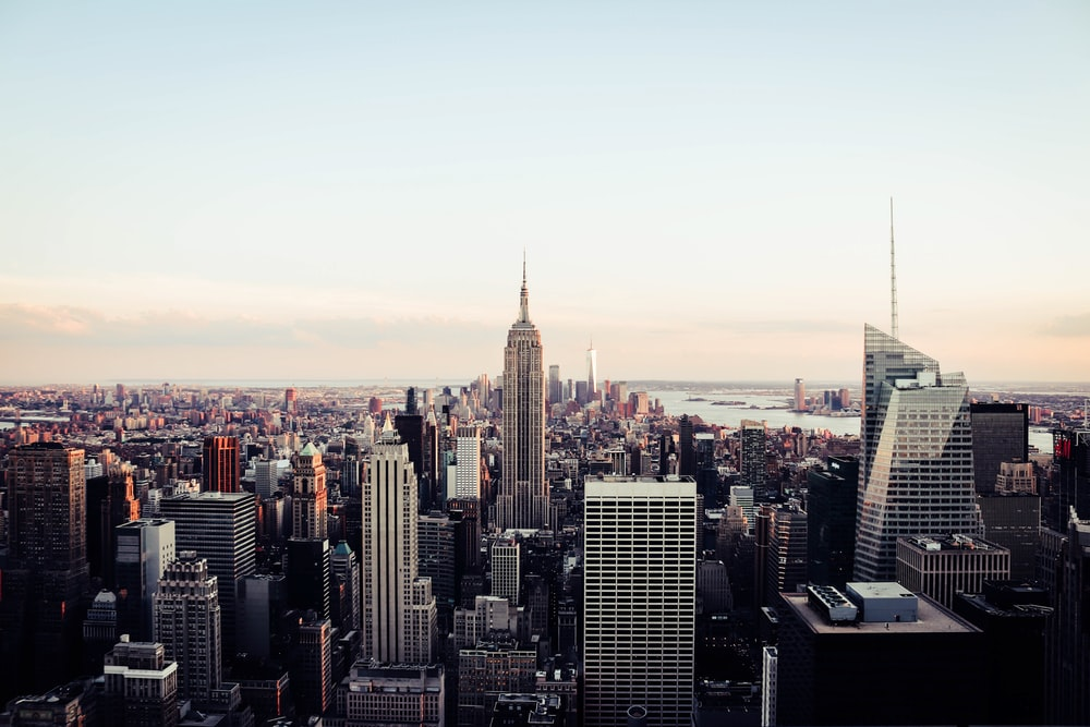 Manhattan Skyline Pictures Download Free Images On Unsplash