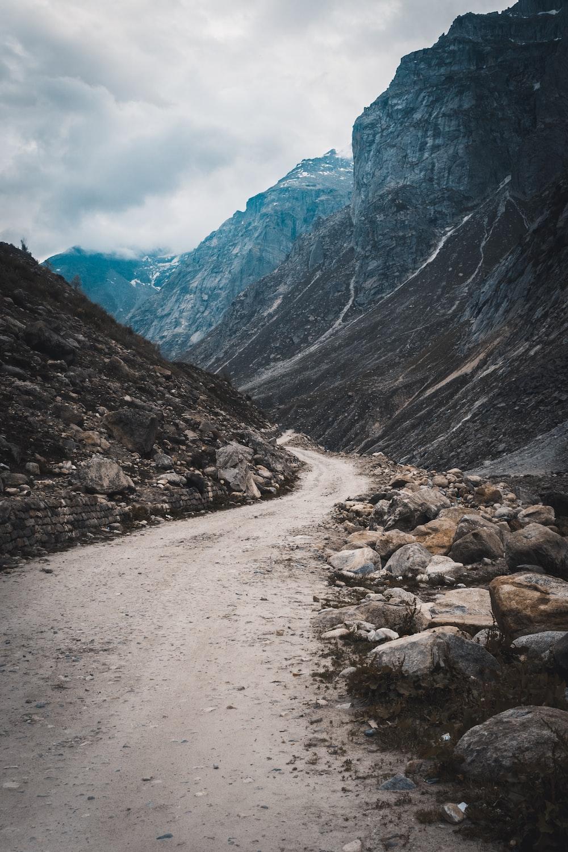 gray pathway