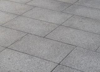 photo of gray floor tiles