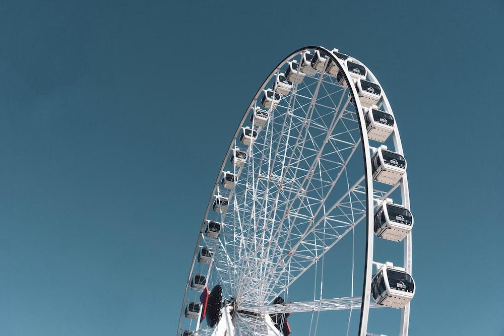 low-angle photography of London Eye
