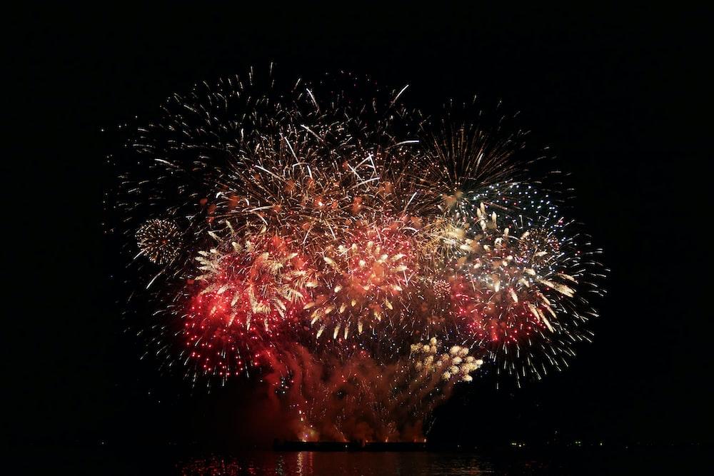 fireworks display during nighttime
