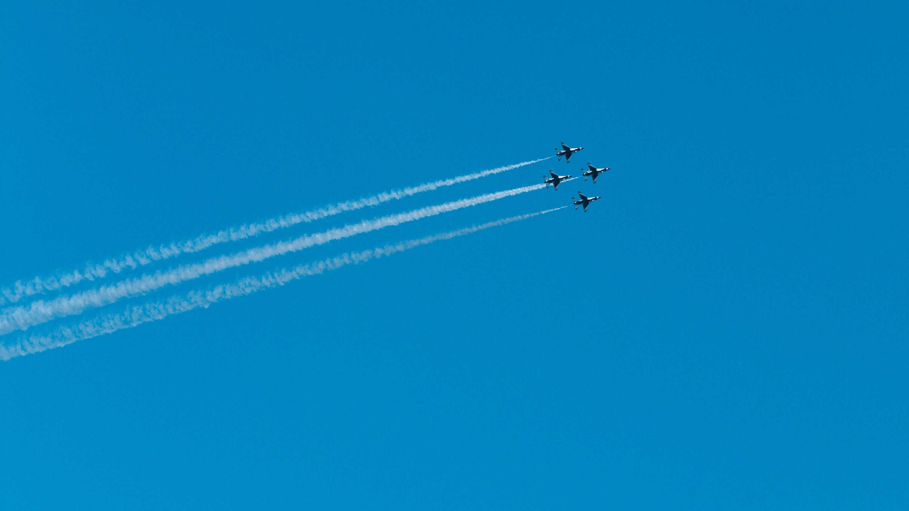 four fighter jets