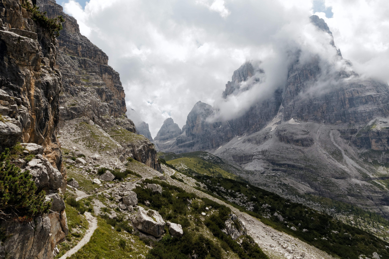 photo of rocky mountain peak