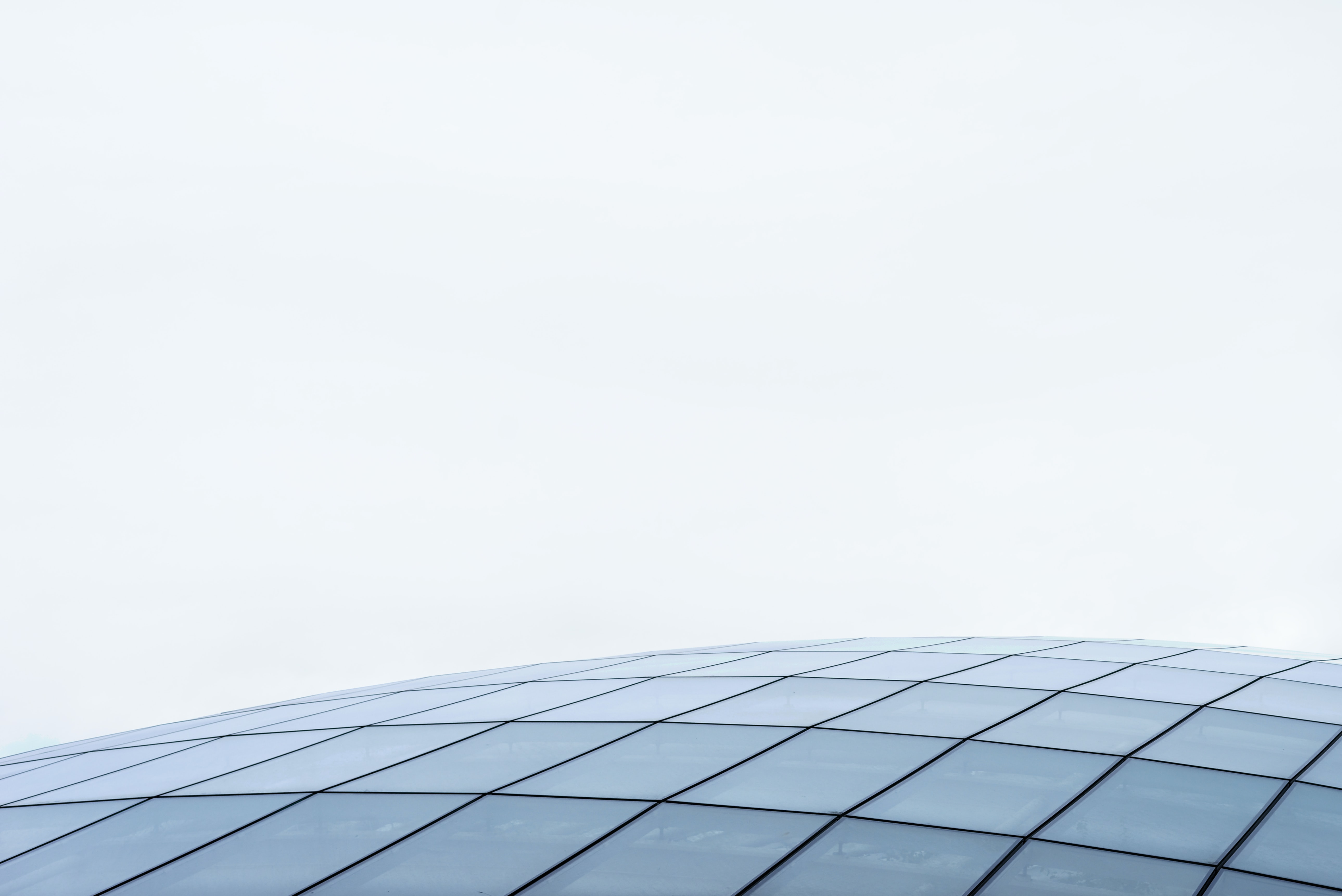 gray glass roof