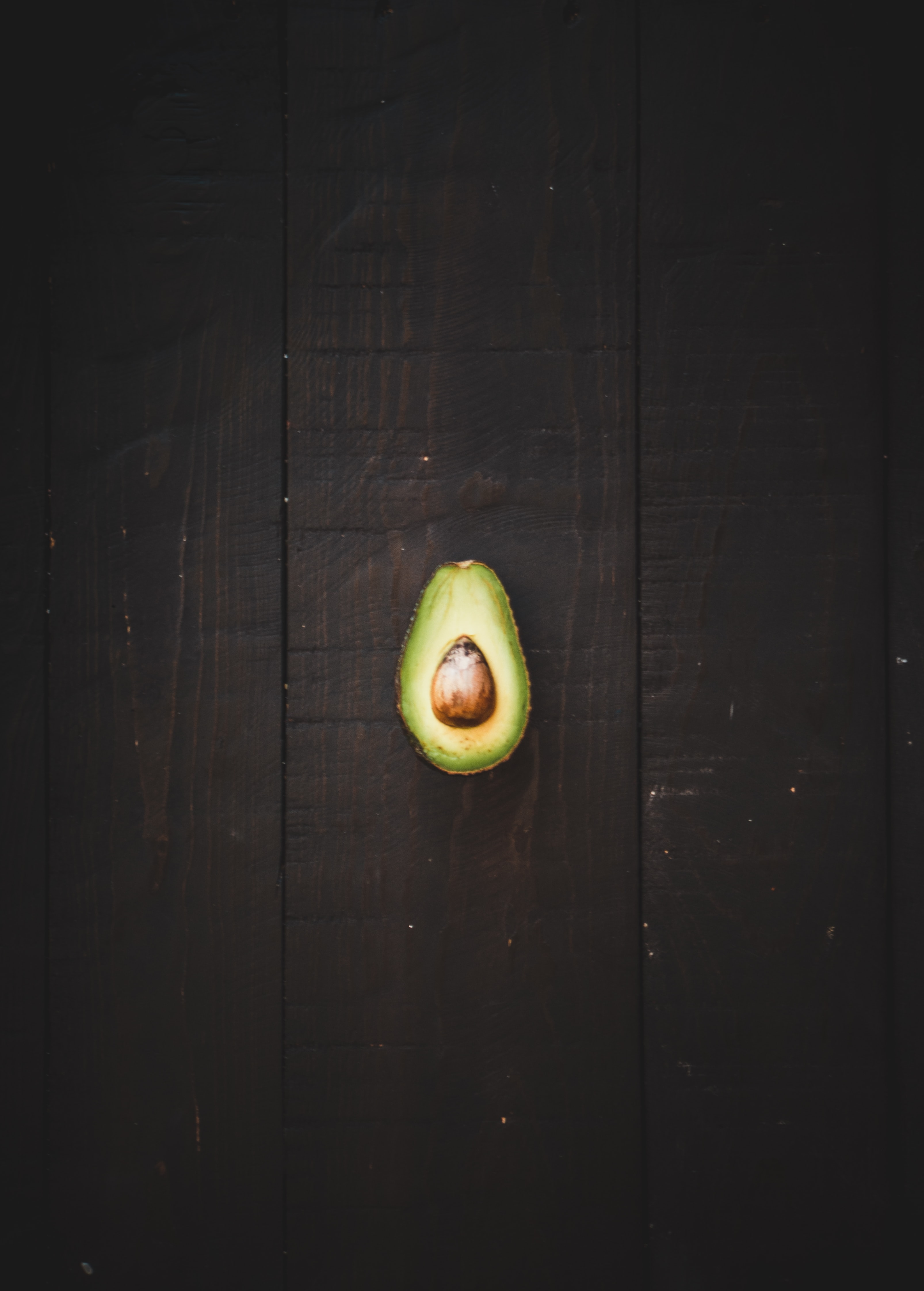 sliced green avocado