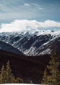 rock mountain during daytime
