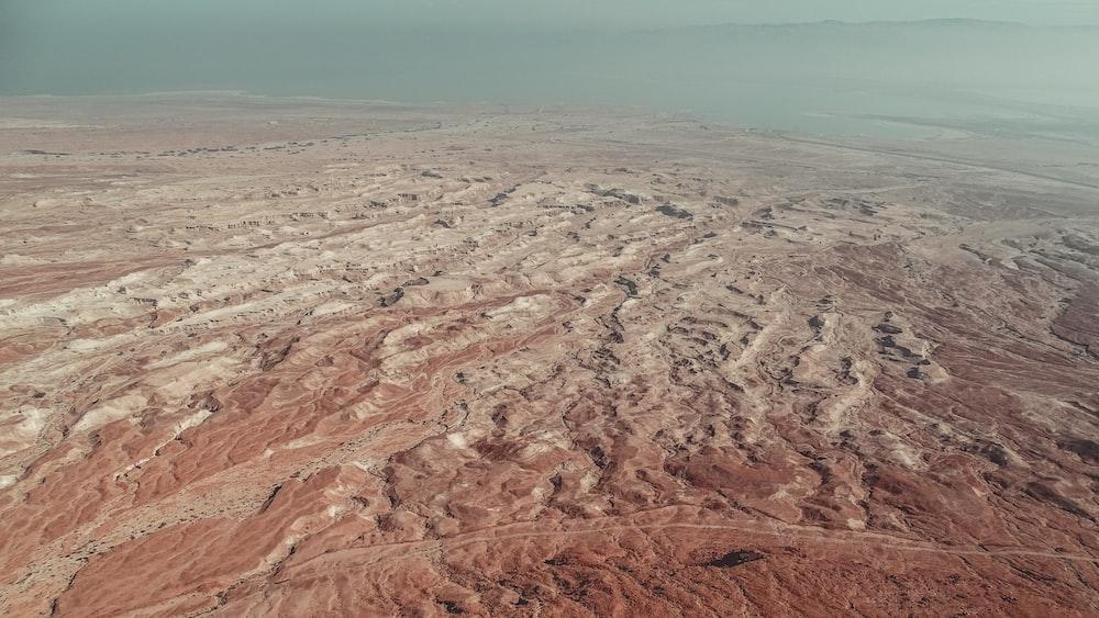 landscape photo of land