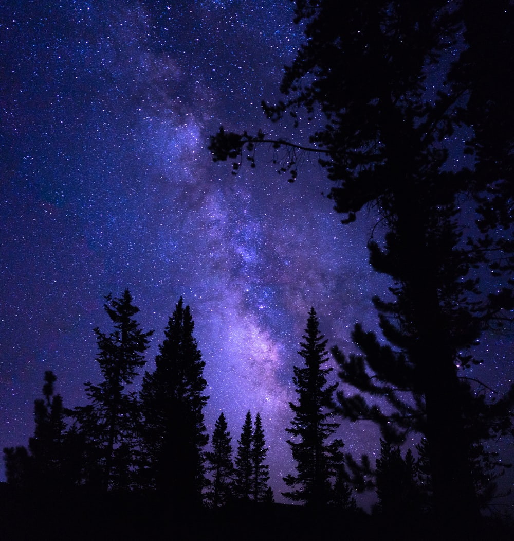 Purple Galaxy Pictures Download Free Images On Unsplash